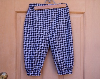 Childrens knickers, size 10/12, newsies, colonial lads, grey & black herringbone, pirates, golf knickers