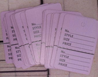 Box of Clothes Tags