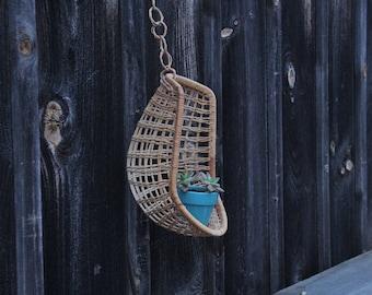 Mini Hanging Rattan Egg Chair