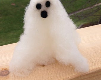 Needle felted Ghost Large