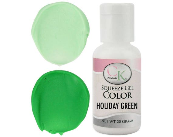Holiday Green CK Gel Paste Food Coloring high quality food