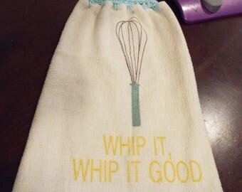 Whip it good Kitchen towel