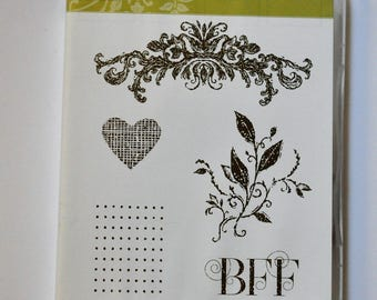 Best Friends Forever Stampin' Up! Stamp Set of 5 Stamps