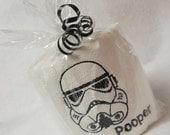 Storm Pooper Embroidered Toilet Paper Bathroom Office Decor Gag Gift Men Imperial Novelty Star Wars Movie Jedi