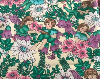 Fun Fairy Fabric, Three-Quarters of a yard plus