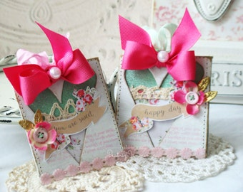 You Are Sweet Handmade Tags - Tag set- Handmade - Shabby Chic style - Tags