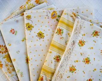 Vintage pillowcases - set of 4