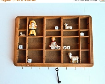 Sale Wall Display, Small Printer Tray, Type Case Letterpress Drawer, Type Drawer