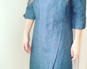 Greek Linen Dress