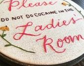 Ladies' Room Etiquette