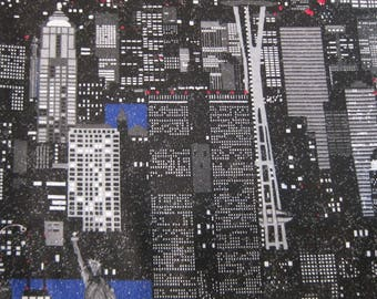 Twin Towers Glitter Fabric 1998, YD