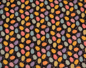 Easter Fabric, Easter Egg Print Fabric, Easter Runner Fabric, Holiday Napkin Fabric, Wreath Fabric, Seasonal Fabric, Spring Fabric