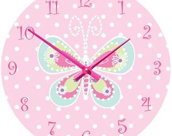 Butterfly Clock
