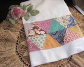 Adorable  Large Dish Towel , Hand Towel, Made From New Cotton Cloth, Big Sink Towel