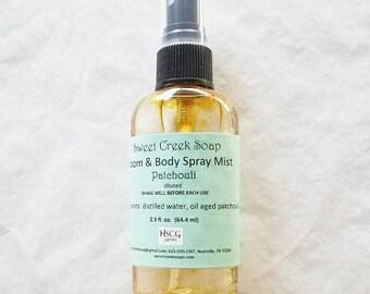 Aromatherapy Spray, Patchouli, 2 oz.