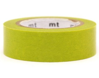 193816 mt Washi Masking Tape deco tape light green