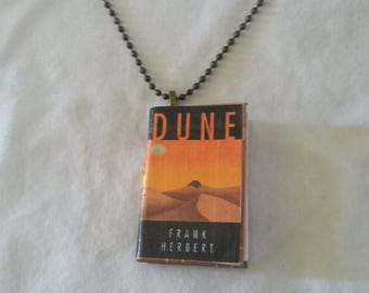 Mini-Book Pendant - Dune