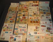 55 Russia Stamp Cover Postal Stationary Registered Airmail Etc Good Old Lot P61