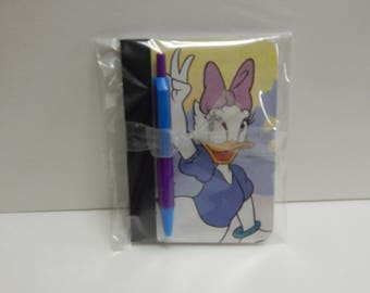 Up cycled MINI Composition Book Disney Daisy Duck