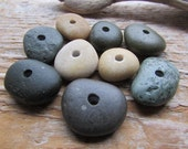 COLORFUL STONE BEADS Beach Stone Mix Lake Stone Beads Stone Supply 3mm
