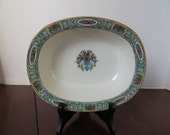 Antique French Limoges Dinnerware Large Open Vegetable Dish William Guerin & Co.