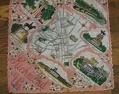 Richmond Virginia Vintage Handkerchief - Ranshaw Label