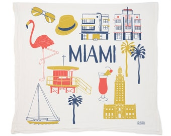 Miami Tea Towel