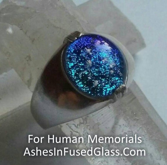 Men S Cremation Jewelry Ring Sterling Silver Ashes