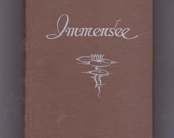 vintage 1949 Theodor Storm Immensee German language book