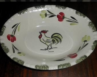 "Vintage Blue Ridge Southern Potteries 9 1/2"" vegetable serving bowl"