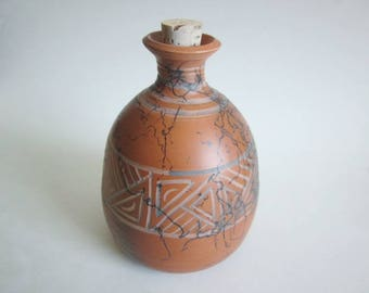 Pet Urn, Ceramic Urn, Terra cotta clay, Cremation Urn, Small pet urn, Ashes Jar, Ashes Holder