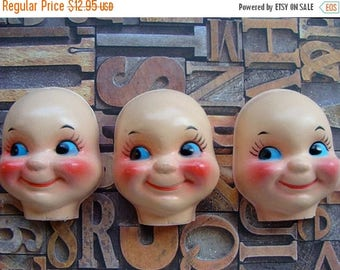 ON SALE Creepy Vintage Doll Faces