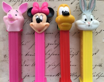 Classic Disney and Warner Bros Character PEZ Dispensers