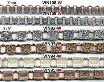 VINTAGE BOOK CHAIN 3 designs