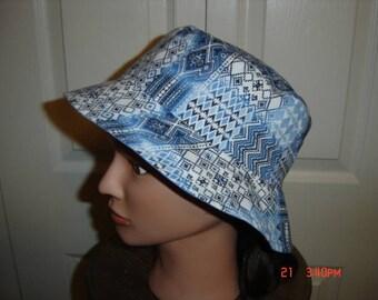 Denim Chambray Bucket Hat