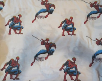 "Ultimate Spider Man Queen Sheet 96"" x 78"" Cotton/Polyester QUEEN for the big boy size bed!"
