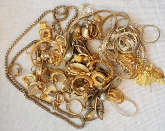 Gold-Tone Jewelry Destash