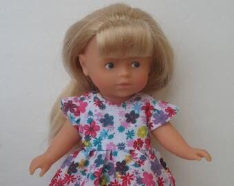 "Clothes for Corolle Mini Corolline 8"" Doll Dress"