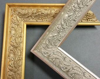 8 x 10, 8.5 x 11 Vintage ,Ornate, Antique, Vintage Collection Picture Frames, photo frames, art, wedding, gold, silver