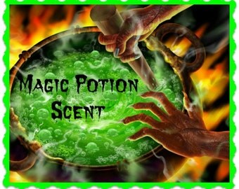 MAGIC POTION Scented Soy Wax Melts - Tarts - Best Seller Halloween Scent - Wickless Candle - Air Freshener - Highly Scented - Hand Made