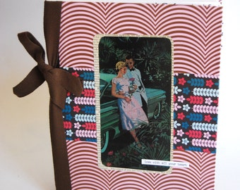 Upcycled Notebook, Journal, Couple, Romance