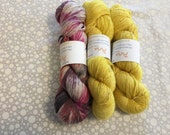 Aria Hand Dyed Fingering Weight Yarn SALE!