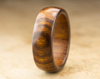 Size 11 - Tamboti Wood Ring No. 278