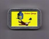 Curious George Ether Stash Box Tin