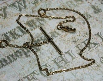 Vintage Gold Tone Watch Chain