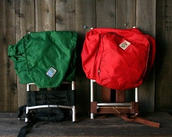 Choice of One Vintage Camptrails Back Pack On Metal Frame Choose Between Red or Green Vintage From Nowvintage on Etsy