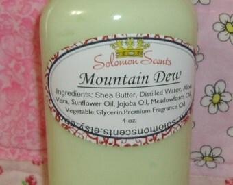 Mountain Dew type Shea Butter Lotion
