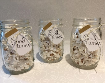 Ball Jar Tags Baby Shower Happy Birthday Gift Tags