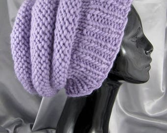 50% OFF SALE Digital file pdf download knitting pattern -  Superfast Beehive Slouch Hat pdf download knitting pattern