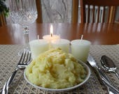 BUTTERY MASHED POTATO (4 votives or 4-oz soy jar candle)